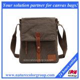 Men′s Casual Multifunction Canvas Shoulder Bag Cross Body Satchel Bag (MSB-027)