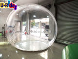 Clear advertising Inflatable bubble ball for show