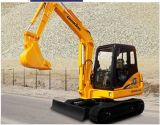 Economical Chinese Construction Machine Mini Excaator LG6065 for Sale