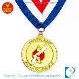 Custom Japan Gold Taekwondo Medal at Factory Price