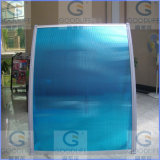 100% Bayer Material Hollow Polycarbonate Panels for Roofing Awning