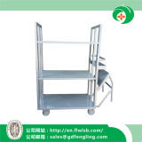 Hand Trolley for Storage Goods in The Factory