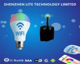 E27 E14 WiFi Smart Lamp RGBW Global LED Bulb Light