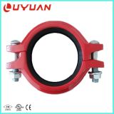 FM Approval Ductile Iron Flexible Coupling and Grooved Pipe Fitting