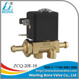 24VDC Brass Gas Solenoid Valve (ZCQ-20E-18)