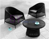 Wholesale Villa Table and Chair Rattan Garden Furniture