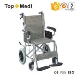 Super Medical Lightweight Portable Aluminum Wheelchair