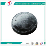En124 Composite Sewer Manhole Cover with Key for Road Construction