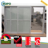 High Quality Soundproof PVC Slide Door with Blinds Inside