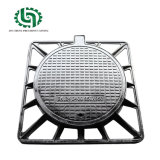En 124 D400 Municipal Square and Round Ductile Iron Manhole Cover