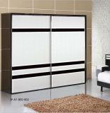 Melamine MDF Series Sliding Door for Modern Deisgn Wardrobe (JY-A7-BEO-002)