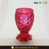 Decorative Fishtail Shaped Made in China Glass Candle Holders