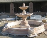 Outdoor Carved Marble Stone Fountain for Garden