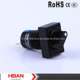 CE RoHS 16mm 3 Position Changeover Switch