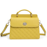 Fashion & Hot Sale Quilted Ladies Genuine Leather Handbag/Cross Body Bag (TB101)