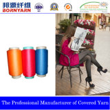 Yarn with Spandex and Polyester for Pantyhose