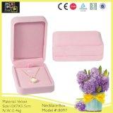 Velvet Custom Beautiful Necklace Box (8097)