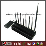 8 Antenna All in One for All Cellular, GPS, WiFi, Lojack, Walky-Talky Jammer System