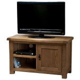 Country Style Wooden TV Cabinet/Solid Wood Cabinet with Door