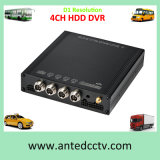 4 Channel HDD Mobile DVR System Vehicle Remotely Monitoring Solution Optional with LCD Monitor
