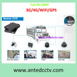 High Image Quality 256GB SD Card Mobile DVR Solution for Cars Taxis Vehicles Buses, WiFi/GPS/3G/4G HD 1080P