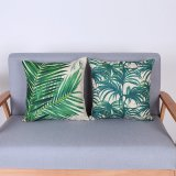 Digital Print Decorative Cushion/Pillow with Botanical&Floral Pattern (MX-71)