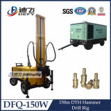 Dfq-150W 150m Water Bore Well Drill Rig Use DTH Hammer