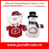 Christmas Decoration (ZY15Y102-1-2) Christmas Sweet Candy Bag Factory Price
