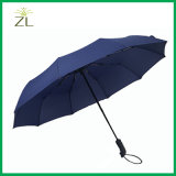Wholesale Custom Windproof Automatic Folding Open Close Travel Umbrella