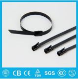 Free Sample Stainless Steel Cable Tie Clumps, PVC Coated Stainless Steel Cable Ties
