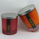 New Product Scented Soywax Jar Glass Candles by China Supplier