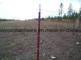 Green Painted T Post with Spade for Garden/Vineyard USA Type