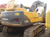 Used Volvo 210 Excavator Ec210blc Digger Good Condition Best Price, Warranty 3 Years Secondhand
