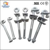Forged Steel Galvanized Standard Ovaleye Anchor Bolt