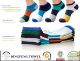 New Season Wide Stripy Colorful Cotton Sport Men Socks