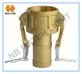 Hydraulic Hose Fitting, Brass Hose Fittings (Type C)