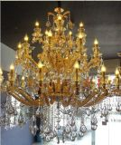 Crystal Chandelier Lamp Golden Color