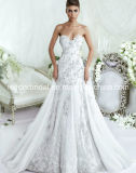 Crystals Wedding Dress Ball Gown Lace Bridal Wedding Gown LD11536