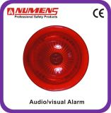 Fire Alarm Conventional Audio/Visual Alarm, Red Body (442-004)