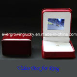 Handmade Safety Ring Box with LCD Display