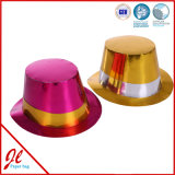 Foil Paper Party Hats / Party Con Hat / Metallic Paper Hat