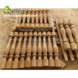 Honed Finished Yellow Sandstone Baluster for House