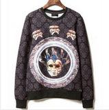 Custom Nice Cotton Printed Hoodies Sweatshirt of Fleece Terry (F077)
