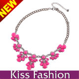 Best Quality American Style Acrylic Crystal Collar Necklace Jewelry (EN0105)