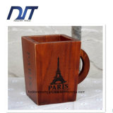 Custom Design Cheap Wood Pen Container for Storage