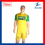 Healong Customized Sublimation Soccer Jersey for Team Club