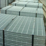 Quality Assurance Welded Steel Grating, Serrated Walkway in Anping