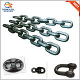 Proof Coil Studless Anchor Chain with Kenter Shackle