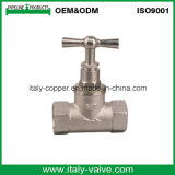OEM&ODM Quality Nickle Plate Forged Brass Stop Valve with T Handle (AV4003)