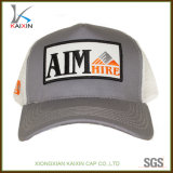 Promotional Cotton Half Mesh Embroidery Patch Logo Trucker Hat